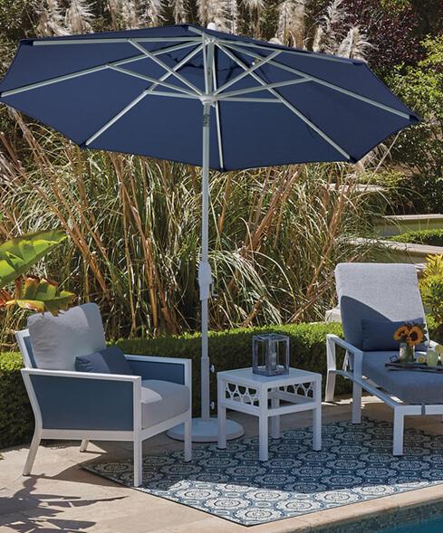 Treasure Garden The World S Favorite, Articulating Patio Umbrella